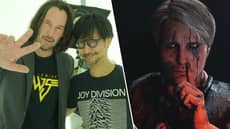 Hideo Kojima Teases New Project As Keanu Reeves Visits The Studio