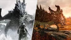 Fighting Your First Dragon In 'Skyrim' Is Still One Of Gaming's Greatest Moments