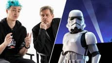 Ninja Teams Up With Mark Hamill To Stream 'Fortnite' Star Wars Content