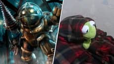We Know What BioShock's Big Daddy Looks Like With No Helmet And Oh God