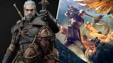 This Three-Foot Tall Witcher Statue Is Perfect For Fans Of A Hefty Geralt