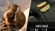 Garlic Bread Is Officially The Most Powerful Food In 'Skyrim'