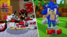 Minecraft's New Sonic The Hedgehog Pack Is The Closest We're Getting To 'Sonic Adventure 3'