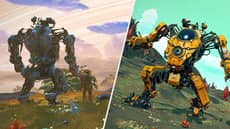 'No Man's Sky' Has Giant Mechs Now And They're Legit Cool