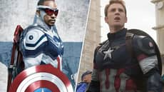 Marvel Replaces Steve Rogers With Sam Wilson As Captain America On Social Media