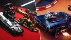 New Hot Wheels Game Features Classic Batman And TMNT Vehicles