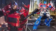 This Optimus Prime Toy Looks Like It Stepped Out Of A Transformers Movie