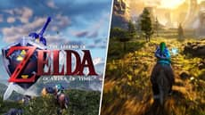 'Ocarina Of Time' Gets Gorgeous Remake For Zelda's 35th Anniversary
