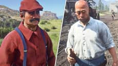 Gamer Creates Lookalikes in 'Red Dead Redemption 2 Online' And The Resemblance Is Uncanny