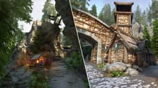 'Skyrim' Overhaul Makes One Of The Game's Best Areas Even Better
