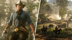 A TV Station Mistook 'Red Dead Redemption 2' Screenshot For Real Photo