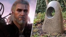 'The Witcher 3' Fan Builds Place Of Power As A Memorial To Their Dog