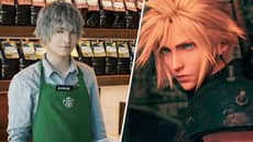 Starbucks Employee That Looks Like A Final Fantasy NPC Blows Up Online