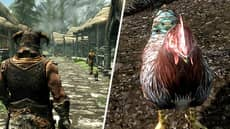 First-Time 'Skyrim' Player Doesn't Understand Why They Were Killed For Attacking A Chicken