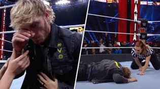 Logan Paul Bodied By A Stone Cold Stunner At WrestleMania