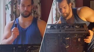 Henry Cavill Seductively Built A Gaming PC, And The Internet Lost Its Mind