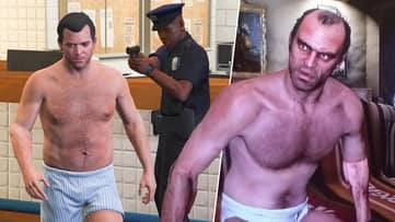 Man Fights Off Car Thief In The Middle Of Nude GTA Session