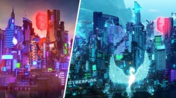 This Cyberpunk-Inspired 'Minecraft' City Might Be Better Than The Real Thing