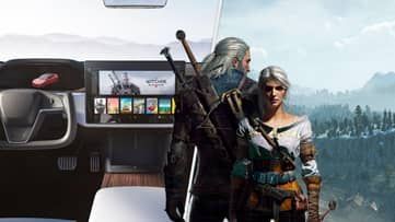 Elon Musk's New Tesla Can Play 'The Witcher 3', For Some Reason