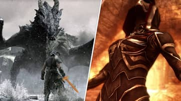 'Skyrim' Player Transforms Wooden Sword Into The Most OP Weapon We've Ever Seen