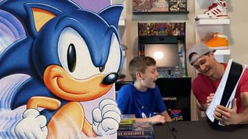 Dad Gives One-Of-A-Kind Sonic PlayStation 5 To His Overwhelmed Son