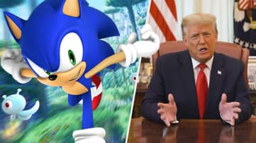 Donald Trump's Knock Off Twitter Is Being Flooded With Sonic Porn