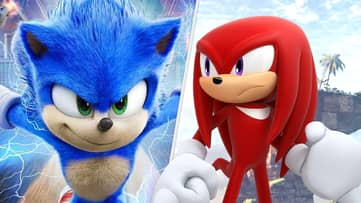 'Sonic The Hedgehog 2' Movie Shows Off Knuckles, And Fans Are Freaking Out