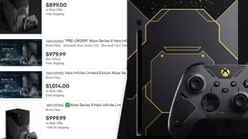Jaw-Dropping Halo Xbox Series X Already Being Scalped For Ridiculous Amounts