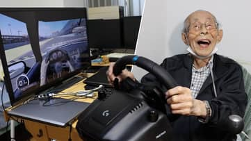 93-Year-Old Ex-Taxi Driver Finds Online Fame Playing 'Forza Motorsport 7'