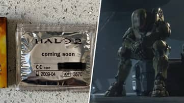 This Official 'Halo 2' Condom Will Haunt My Nightmares For Years To Come
