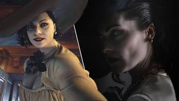 Lady Dimitrescu's Face Model Cosplays As The Giant Vampire, And It's Epic