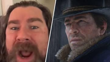 """Arthur Morgan Alarm Clock Tells You To Get Out Of Bed """"You Lazy B*stard"""""""
