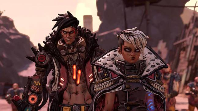 The Calypso Twins replace Handsome Jack as the villains