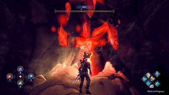 The 'Vaults of Tartarus' are the game's take on Zelda's Shrines / Credit: Ubisoft
