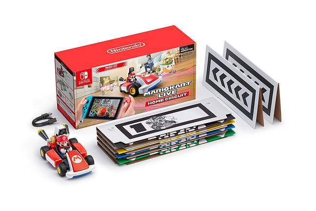 What's inside the Home Circuit box / Credit: Nintendo