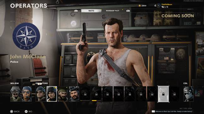 John McClane in Call of Duty: Black Ops Cold War / Credit: Activision
