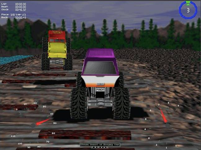 Monster Truck Madness / Credit: Microsoft Corp via MobyGames.com