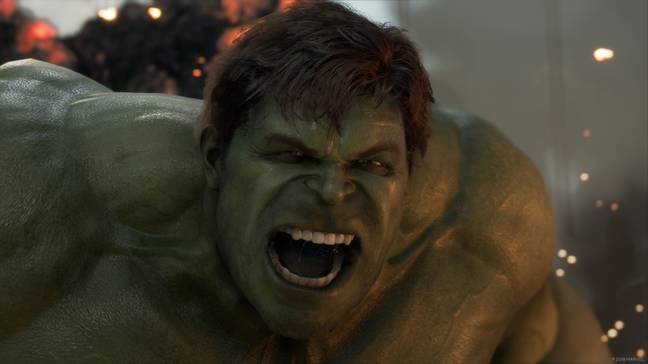 HULK ANGRY WITH CONFUSION