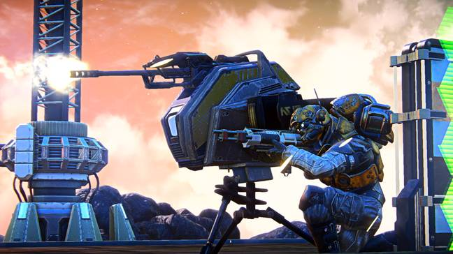 Arena was built on the bones of MMOFPS PlanetSide 2
