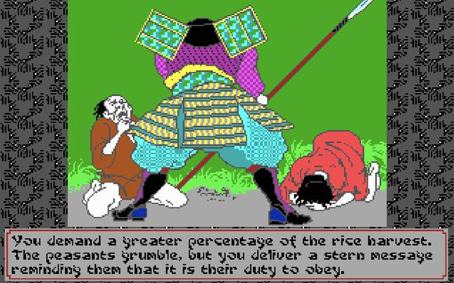 Sword of the Samurai / Credit: MicroProse Software, MobyGames