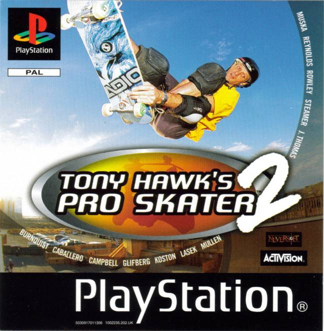 Tony Hawk's Pro Skater 2 / Credit: Activision, Neversoft
