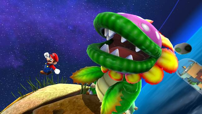 Super Mario Galaxy in Super Mario 3D All-Stars / Credit: Nintendo