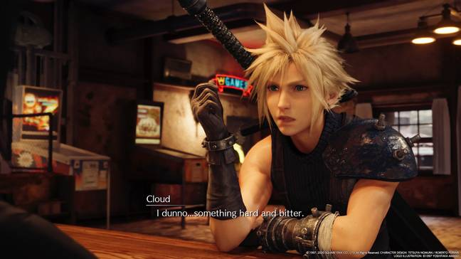 Final Fantasy VII Remake / Credit: Square Enix / all screenshots captured by the author