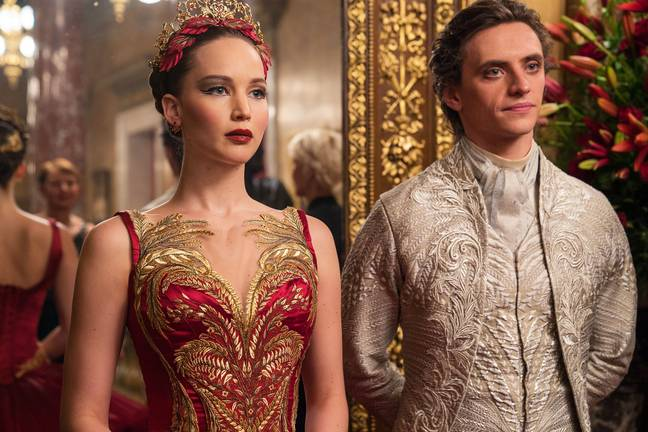 Jennifer Lawrence and Sergei Polunin in Red Sparrow / Credit: 20th Century Fox