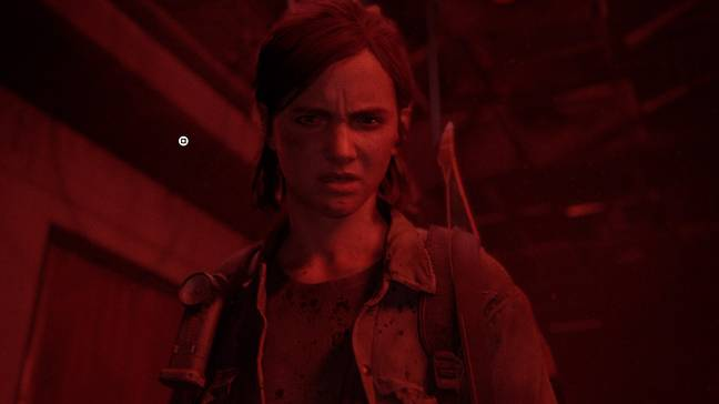 Ellie waits for the player to press the square button, to kill Nora / Credit: Sony Interactive Entertainment, Naughty Dog