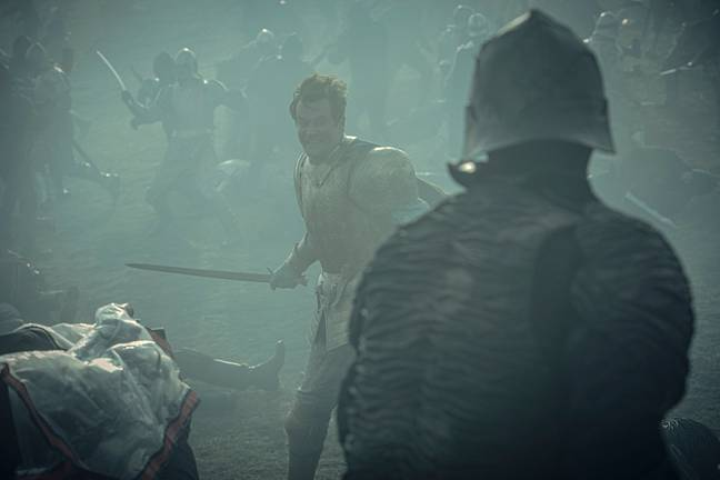 The Witcher features many scenes of bloody combat