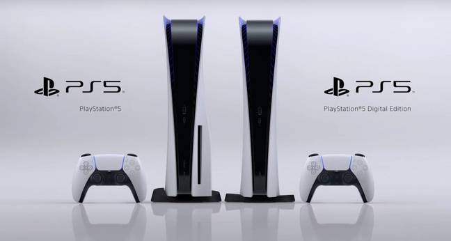 The two PlayStation 5 models arriving later in 2020 / Credit: Sony Interactive Entertainment