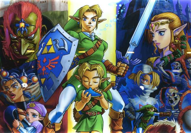 The Legend Of Zelda: Ocarina of Time / Credit: Nintendo