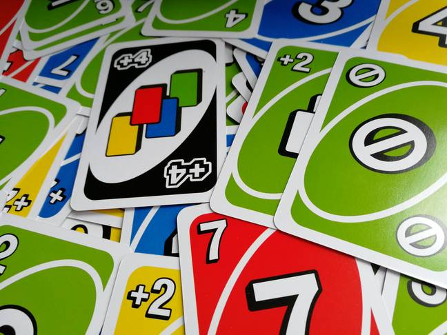 Some Uno cards / Credit: the author