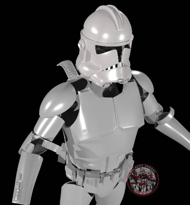 Clone Trooper Plans / Credit: Galactic Armory